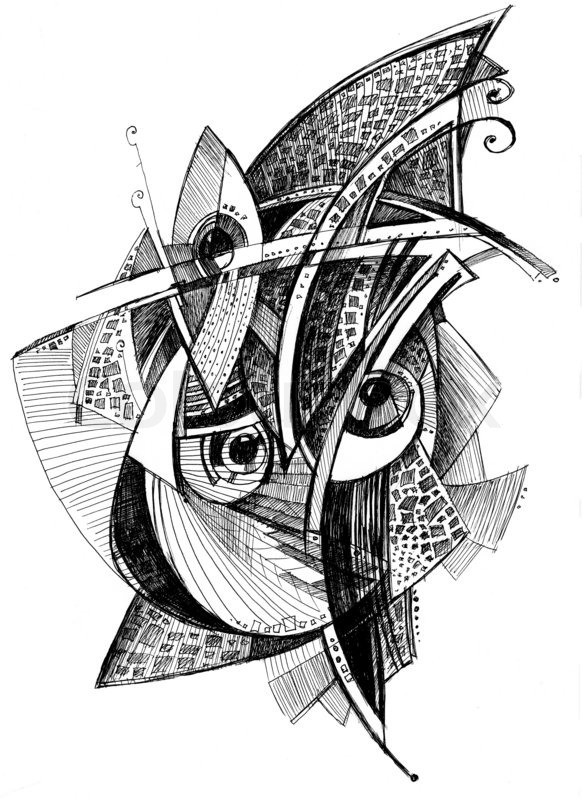 Abstract pencil drawing by MPKuikman on DeviantArt