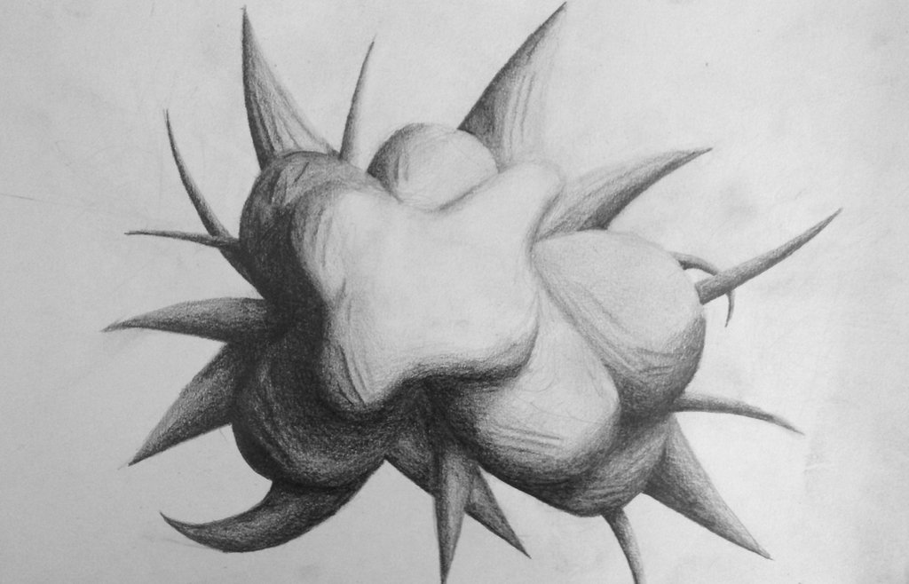 Abstract Pencil Drawings | Pencil and Color Pencil pieces by Amy