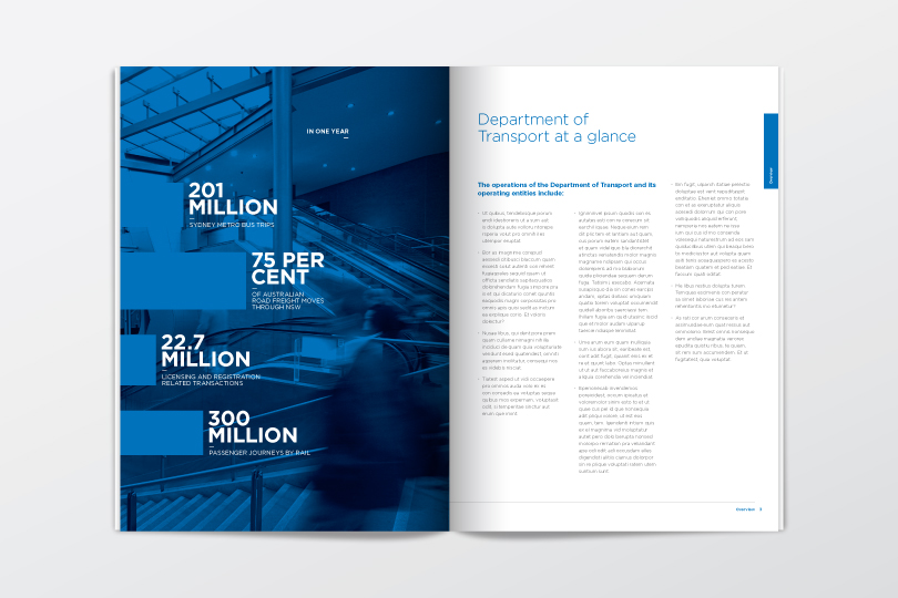 company annual report business brochure design template   Download