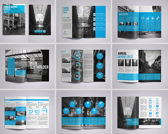 annual report design template   Maggi.locustdesign.co
