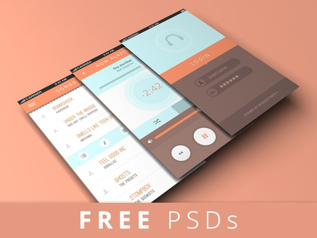 Free iPhone 7 App Screen Mockup PSD   Good Mockups