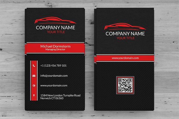 22+ Automotive Business Cards   Free PSD, AI, EPS Format Download