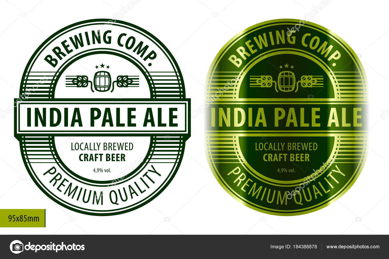 New Beer Label Template   Your template collection | Your template