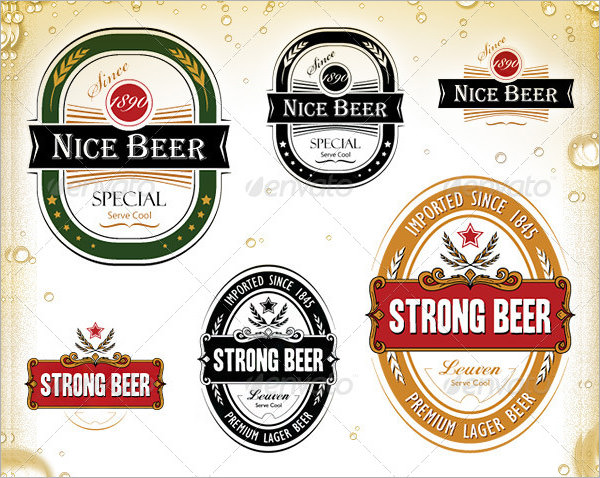 Beer Label Template   27+ Free EPS, PSD, AI, Illustrator Format