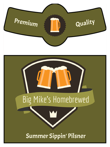 Printable Beer Label Template   195+ Free & Premium Download
