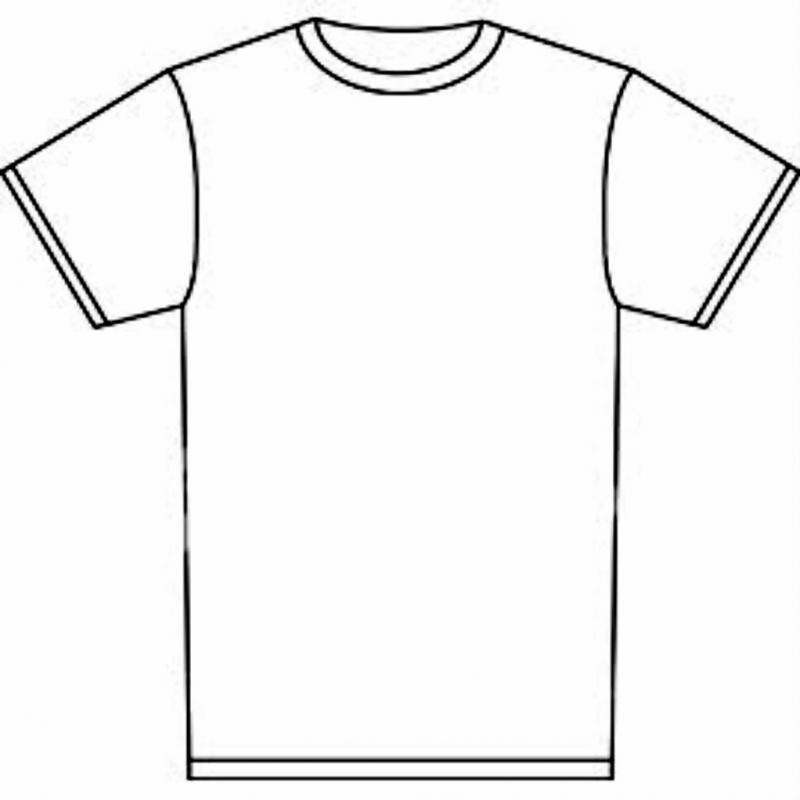 Blank Tshirt Template | Template Business Pertaining To Tshirt