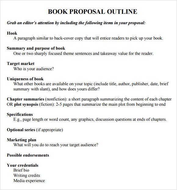 book proposal template nonfiction book proposal template template