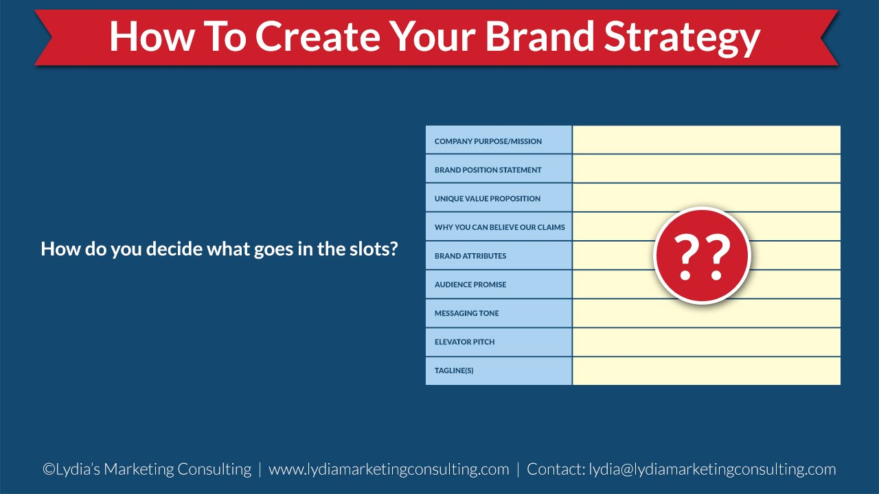 Building A Brand Strategy   A Basic Template and Tutorial   Part 2
