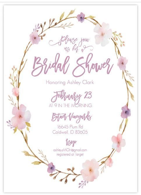 Here Are Some Bridal Shower Templates That You Won't Believe Are