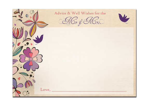 Wedding Shower Card Template | Arts   Arts