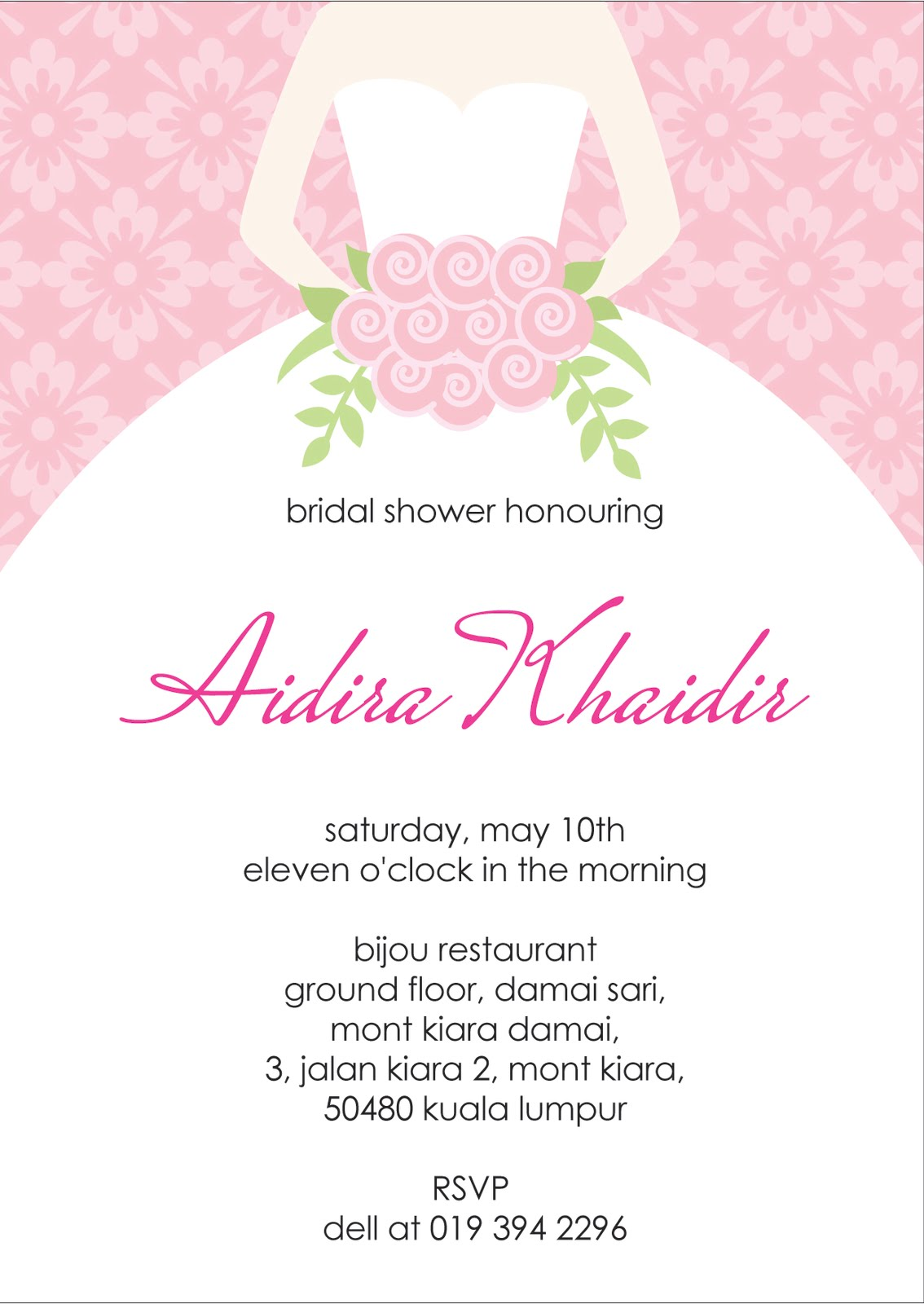 Bridal Shower Invitation Cards | Bridal Shower Invitations