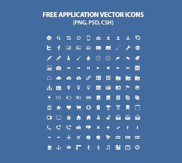 25 Free Vector Icons Pack For Web and Graphic Designers | Icons