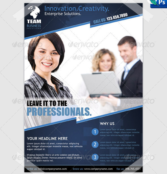 Business Flyer Templates Free Business Flyer Template Business