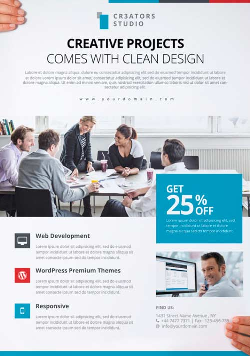 Free Flyer Template Business Flyers Templates Free Download Free