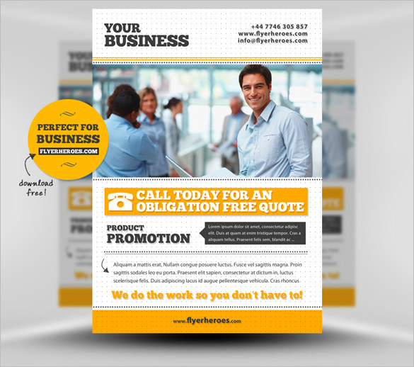 business flyer templates free download 10 fabulous free business