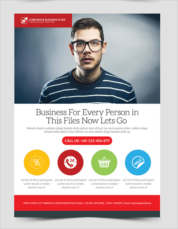 Flyers For Business Free Fabulous Business Flyer Template For Free