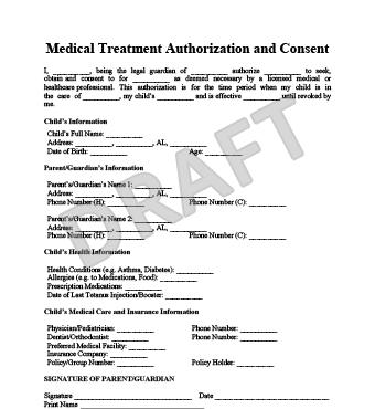 Pare Medical Consent Form   Fill Online, Printable, Fillable