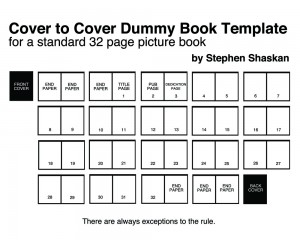 32 PAGE PICTURE BOOK DUMMY TEMPLATE « Stephen Shaskan, rhymes with