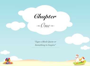 iBooks Author Templates :: Childrens Book