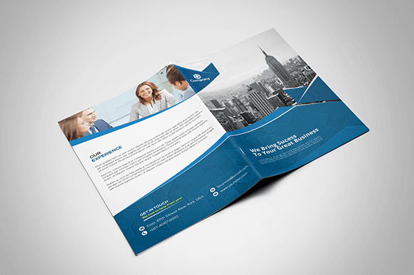 Corporate Brochure Design Free Download   Print Ready   Wisxi.com