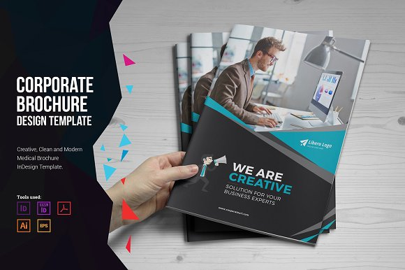 Corporate Brochure Design ~ Brochure Templates ~ Creative Market