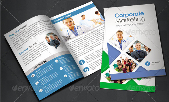 25 Corporate And Professional Brochures Design Browse Ideas