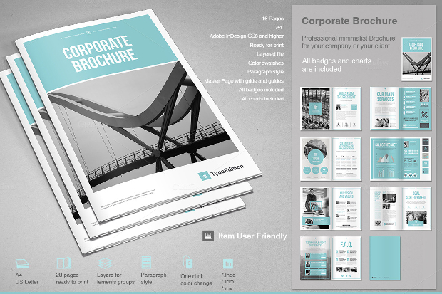 corporate brochure design templates download full company brochure