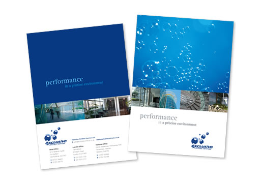 Corporate Brochure Design for IEC  ecreations Web Design Mauritius