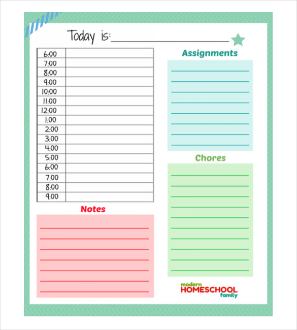 Daily Schedule Template   37+ Free Word, Excel, PDF Documents