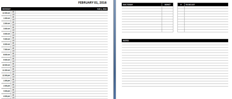 29+ Daily Planner Templates   PDF, DOC | Free & Premium Templates