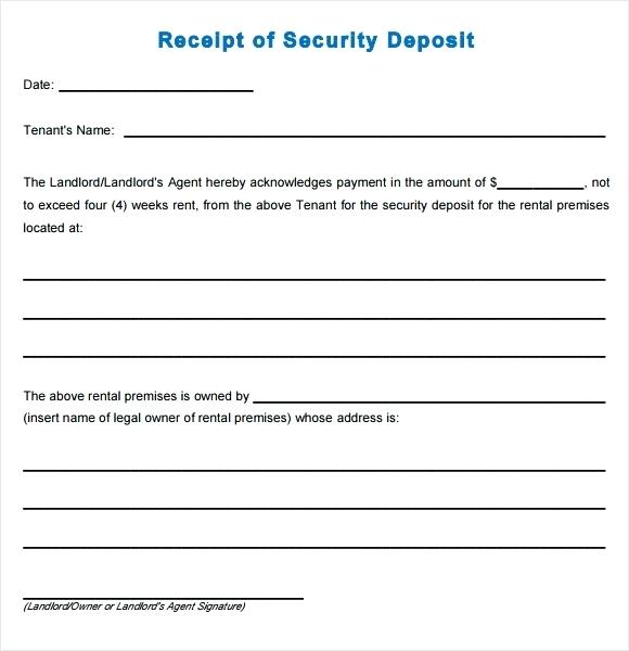 Cheque Receipt Format Deposit Receipt Template Word Cheque Receipt