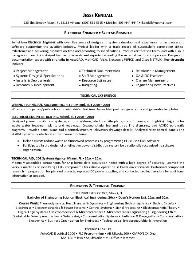 electronic engineer student resume samples   Ecza.solinf.co