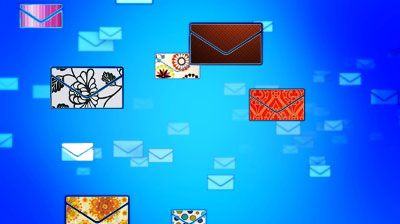 Email Post Envelope Concept Background Royalty Free Cliparts