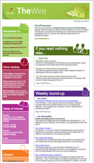 internal communications newsletter template internal