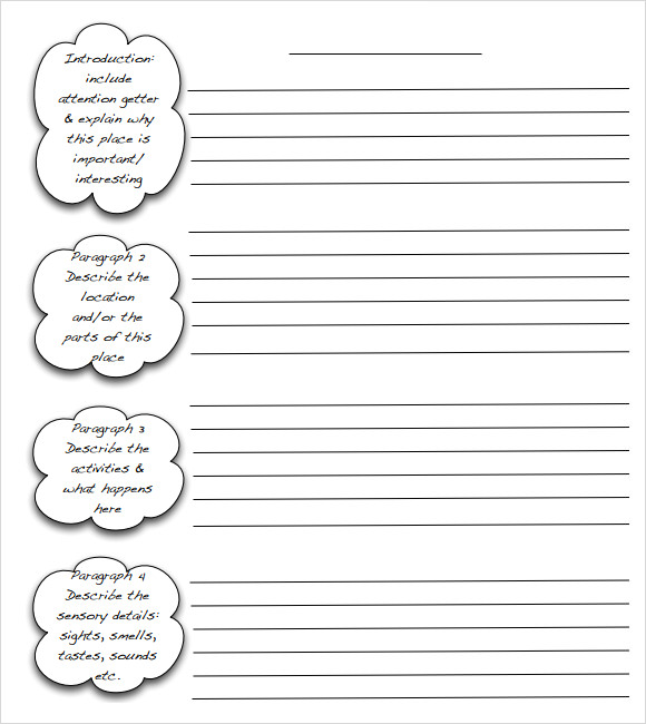 Essay Writing Template Emmamcintyrephotography