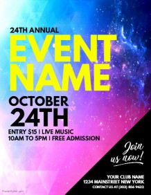 Event Flyer Templates   Free Downloads | PosterMyWall