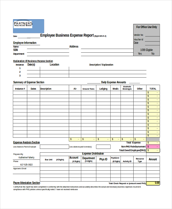 Excel Report Template   5 Free Excel Document Downloads | Free