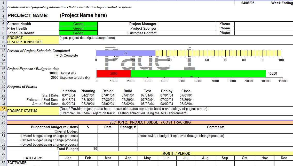 Excel Reporting Template Emmamcintyrephotography