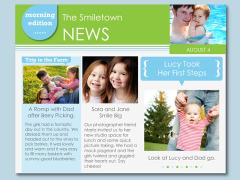 Family Newsletter Template Family Newsletter Templates Family News