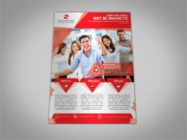 business brochure templates free psd 18 business flyer templates