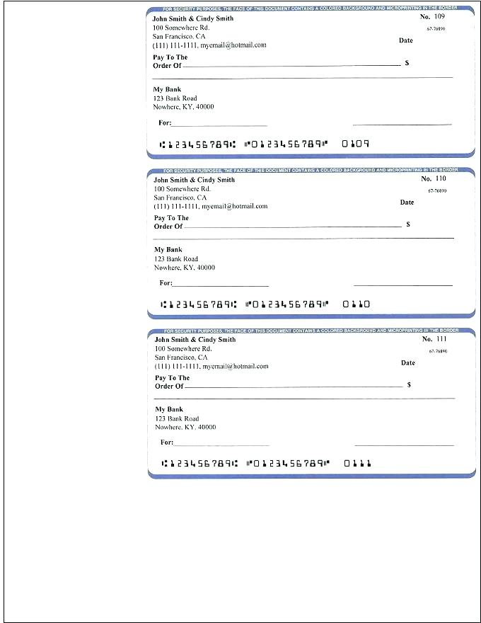 free check printing template free check printing template