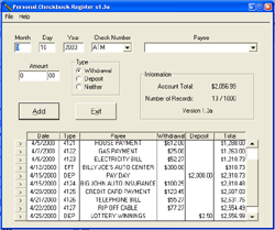 Checkbook Software for Mac   Excel Checkbook Register for Mac