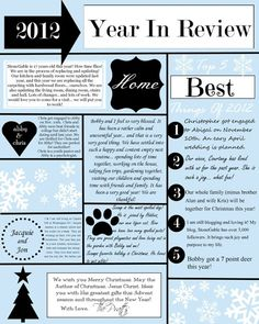 Free Christmas Newsletter Templates Emmamcintyrephotography