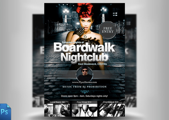 Club Flyers Templates Club Flyer Templates Psd 25 Fabulous Night