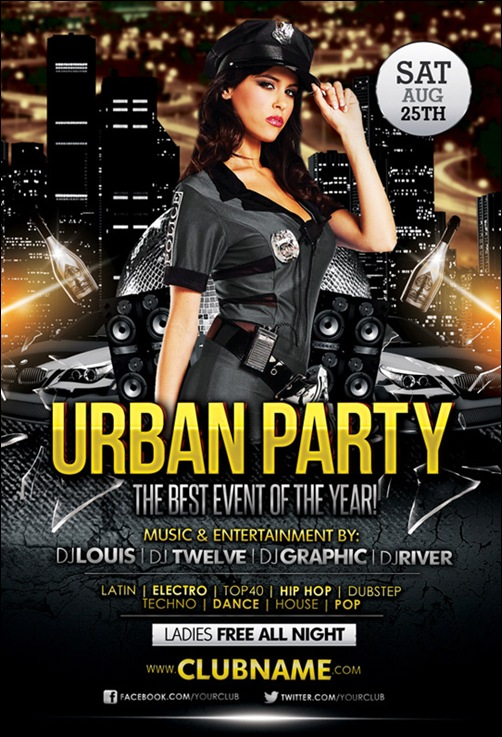 free club flyer templates free club flyer templates 35 awesome