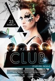 Night Club Flyer Templates Free NightClub PSD Download Styleflyers