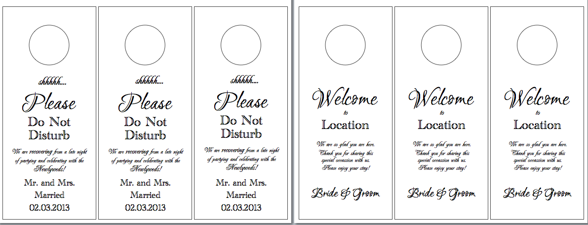 door hanger template free   Into.anysearch.co