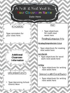 Newsletter Templates For Teachers Free Free Class Newsletter