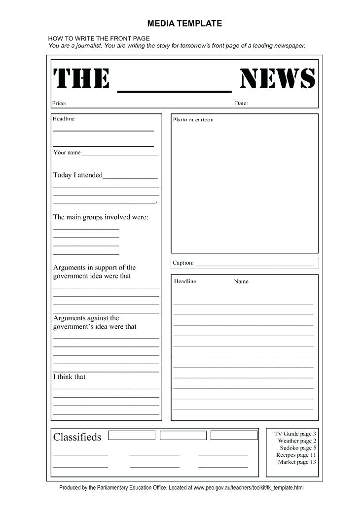 Free Editable Newsletter Templates for Word Pdf format | Business