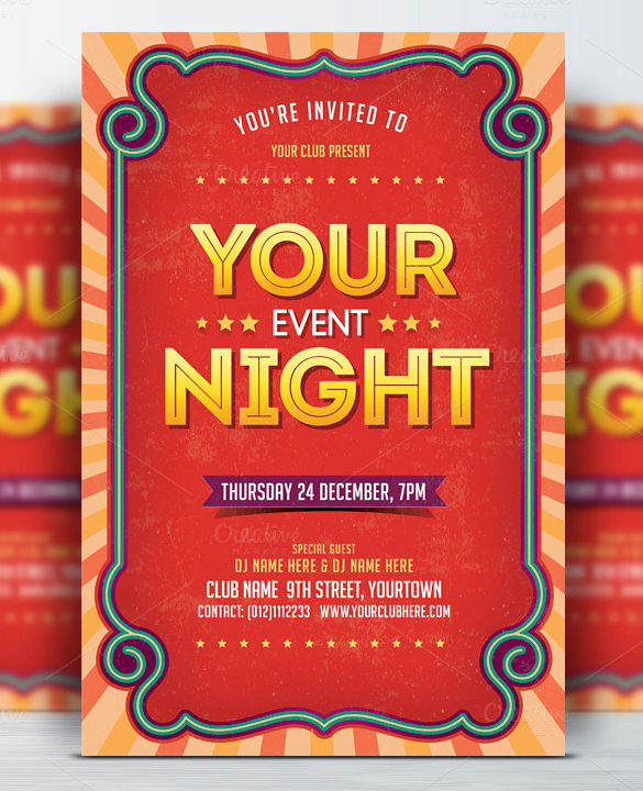 free event flyer templates free event flyer templates free event